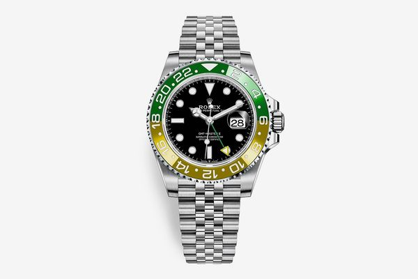 Soda-Inspired Luxe Timepieces - Rolex's GMT-Master II Gets a Tonal 'Sprite' Makeover
