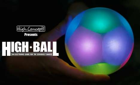 "420 Puzzle Toys - High Concepts' The High Ball is an Electronic Game ""for the Seriously Baked"""