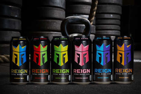 Free-From Fitness Beverages