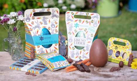 Vegan Chocolate Easter Eggs