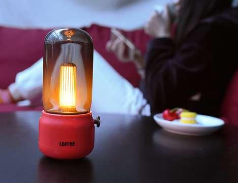 Candle-Inspired Digital Lanterns