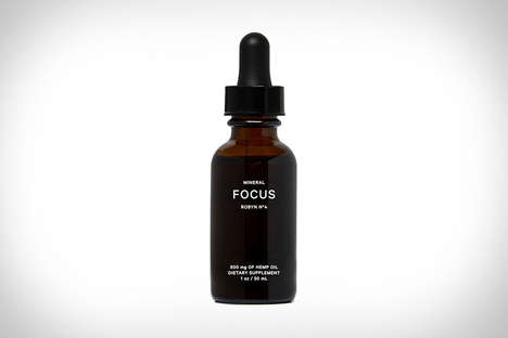 Concentration-Enhancing CBD Oils - The MINERAL FOCUS Oil Helps with Alertness and Mood