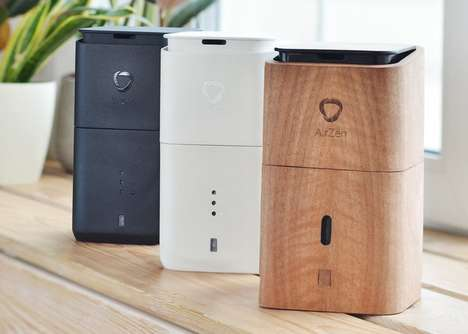 Five-in-One Air Quality Appliances