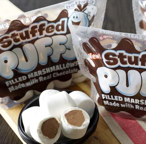 Chocolate-Filled Marshmallows