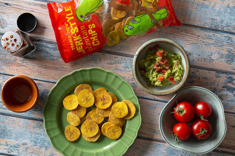 Jamaican-Style Plantain Chips - Trader Joe's Jerk-Style Plantain Chips are Sweet and Spicy