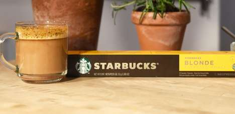Coffee Chain Espresso Capsules - Starbucks and Nestlé Just Launched a Starbucks by Nespresso Line