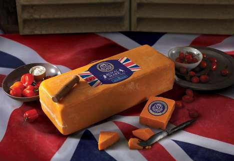 Royal Offspring-Honoring Cheeses - Whole Foods' Royal Addition Cheese Celebrates the New Royal Baby