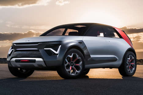 Level Five Autonomy Crossovers - The Kia HabaNiro Electric Crossover Concept Offers a 300-Mile Range