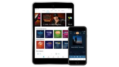 Low-Cost Audio Streaming Services - The SiriusXM Essential Plan Offers Over 300 Channels