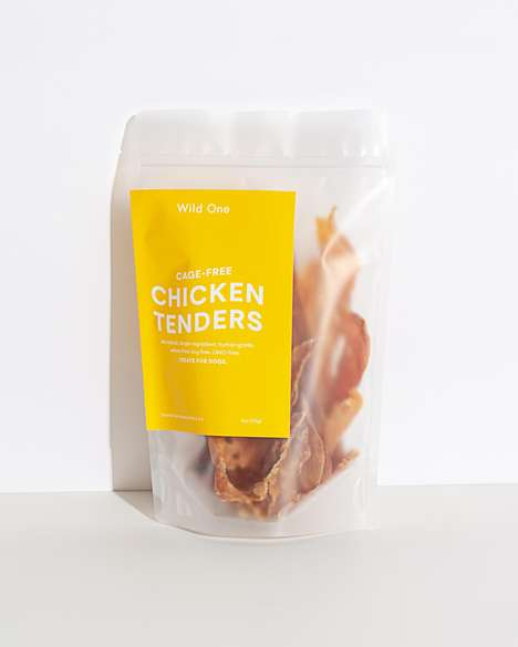 Transparency-Focused Dog Treats - Wild One Makes Simple, Single-Ingredient Dog Treats