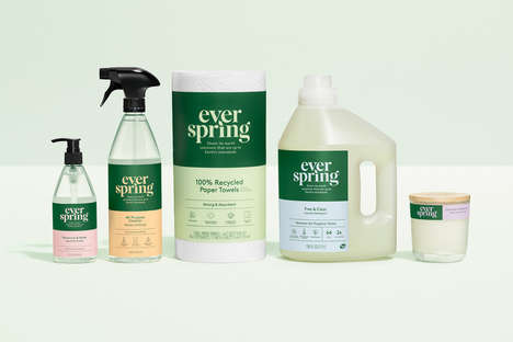 Naturally Focused Household Products - Target Everspring Introduces Essentials with Clean Formulas