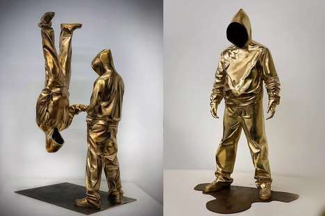 Limited Contemporary Bronze Sculptures - Huang Yulong Creates Art Blending Surealism and Realism