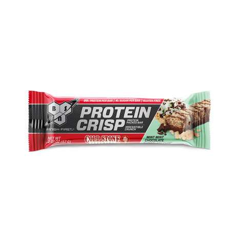 Ice Cream-Flavored Protein Crisps