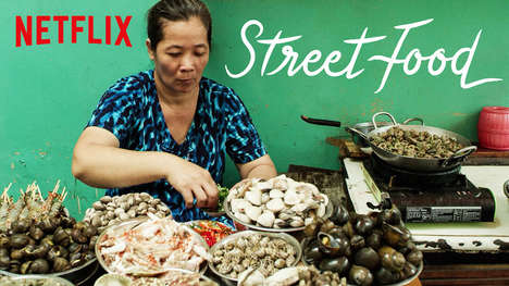 Street Food Documentary Series - The Netflix Street Food Series will Launch April 26