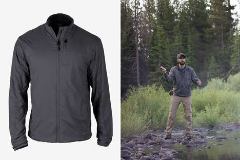 Lightweight Thermoregulation Outerwear - The Triple Aught Design Equilibrium Jacket is Breathable