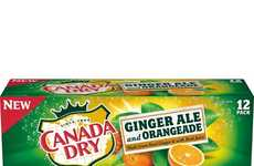 Gingery Orange-Infused Sodas