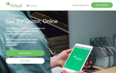Remote Healthcare Provider Apps - EQ Virtual Offers Accessible Care for British Columbia Users