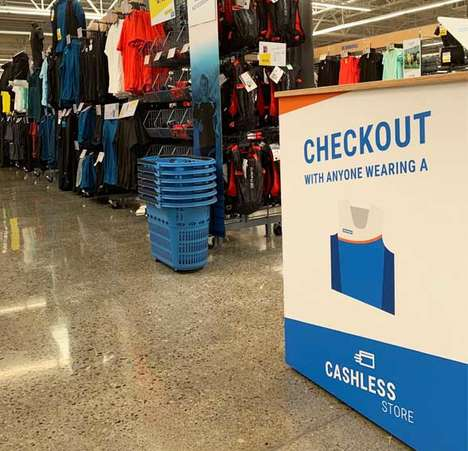 RFID-Enabled Sports Stores - Decathlon Uses Mobile Checkout Stations to Help Customers Avoid Lines