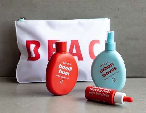 Natural Australian Beauty Brands - 'Beached' Offers Cruelty-Free Products for a Natural Look