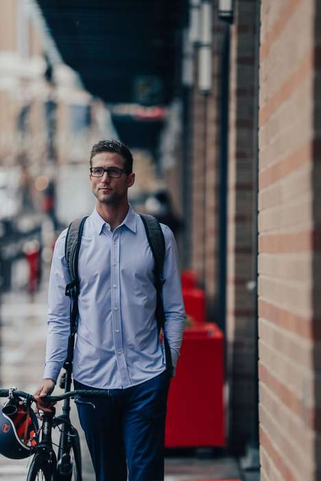 Commuter Dress Shirts - Rhone's Newest Commuter Collection Design Has High-Performance Features