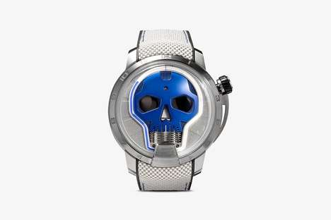 Hydro-Mechanical Wristwatches - HYT's Watches Boast Movement by Liquid Propulsion