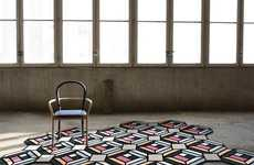 Modular Optically Chic Rugs