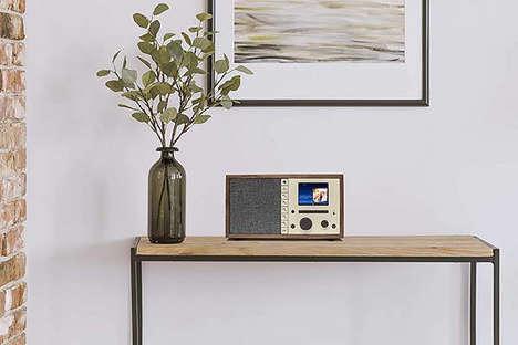 Retro-Style Internet Radios