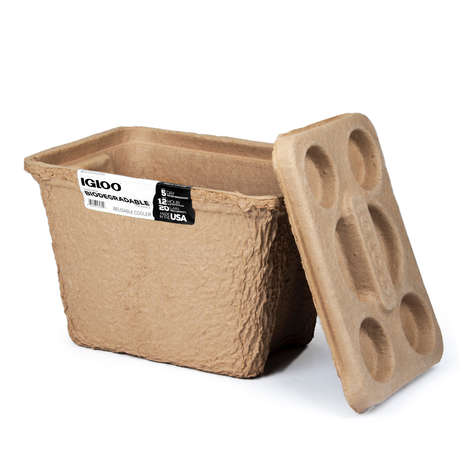 Biodegradable Pulp Coolers