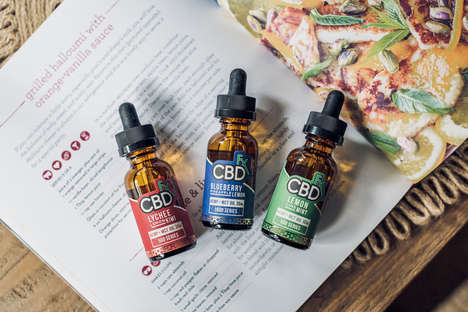 Flavored CBD Tinctures - CBDfx Offers Different Flavors of Its Cannabidiol Formula