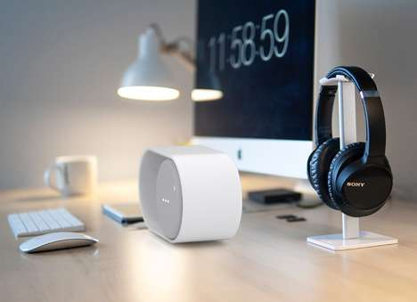 Toggle Switch-Inspired Speakers