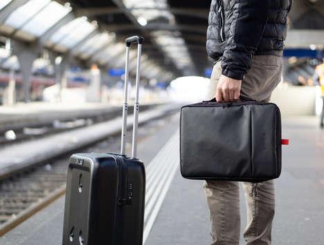 Smart Detachable Component Suitcases