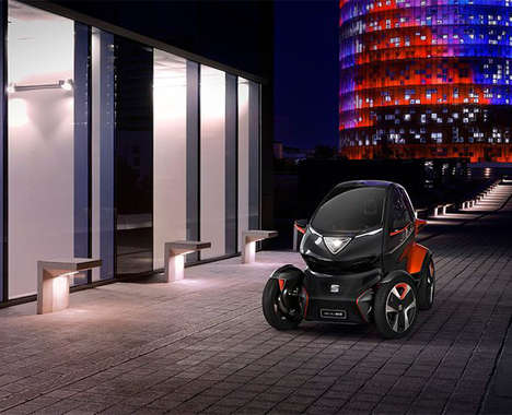 Eco-Friendly Two-Passenger Vehicles