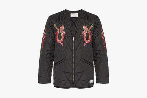 Dragon-Graphic Luxe Fashion
