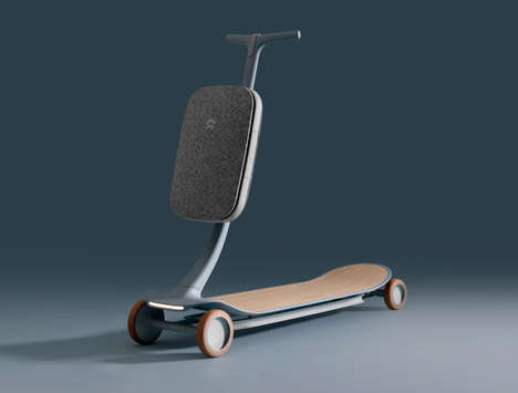 Sleek Autonomous Scooter Concepts
