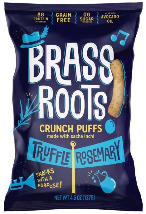 Crunchy Protein Puffs