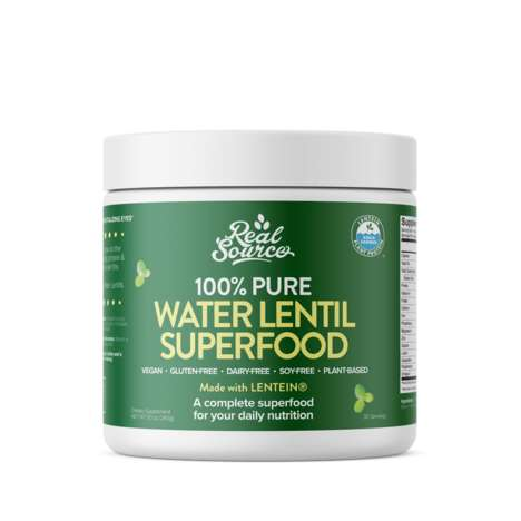 Lentil-Based Superfood Powders