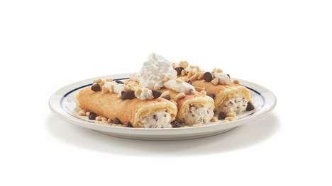 Cannoli-Inspired Pancakes