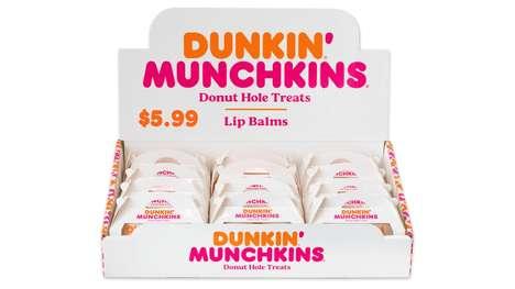 Donut-Scented Lip Balms