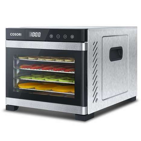 Automated Food Dehydration Appliances - The COSORI Digital Food Dehydrator Prepares Premium Edibles