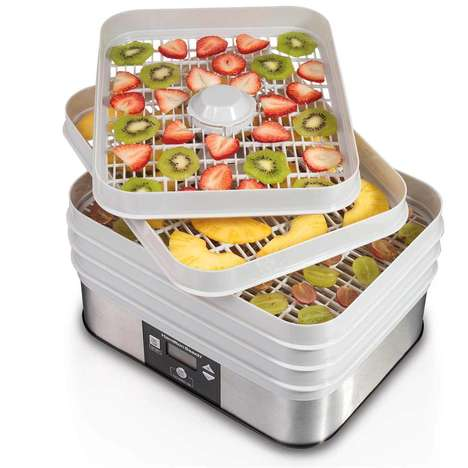 Homemade Jerky Machines - This Hamilton Beach Food Dehydrator Makes Healthy Snack Prep Easy