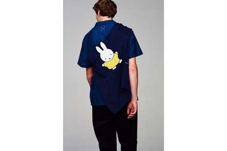 Cartoon Rabbit Graphic Streetwear