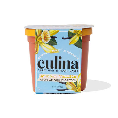 Craft-Fermented Coconut Yogurts - Culina's Plant-Based, Dairy-Free Yogurt is Packed with Probiotics