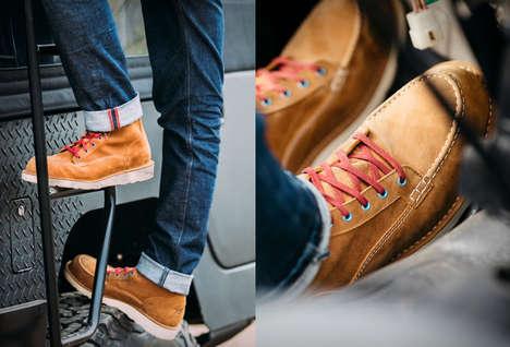 Fashionable Americana Work Boots
