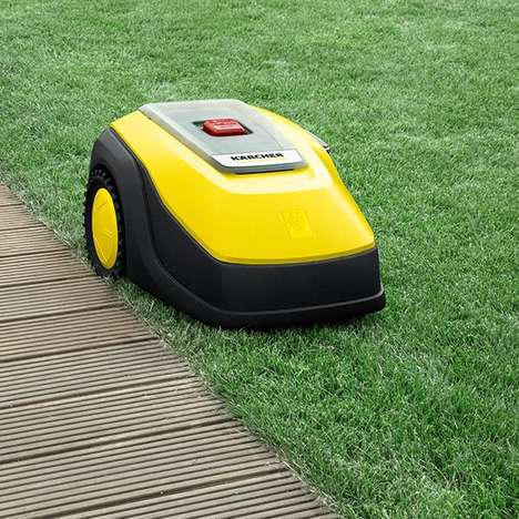 Automated Quad-Blade Lawnmowers