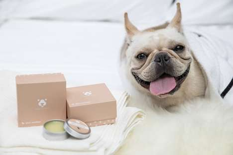 Protective Pet-Friendly Balms - Amo Petric's Dog Balms Protect Paws, Snouts and Wrinkles