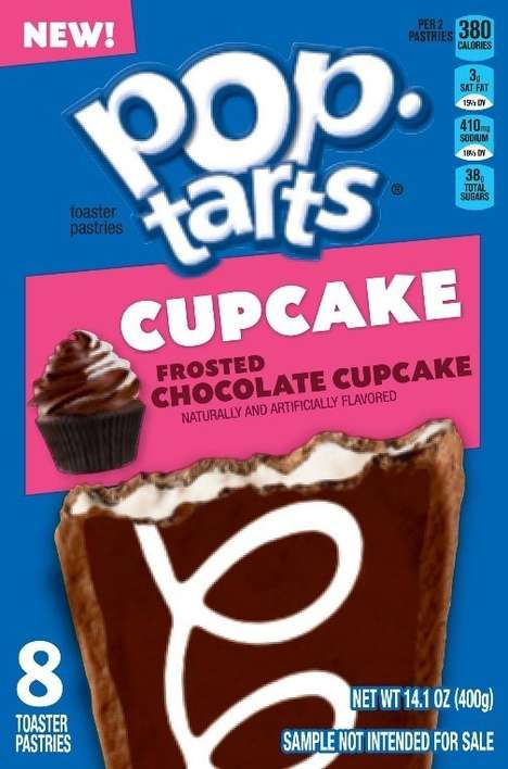 Cupcake-Flavored Toaster Pastries