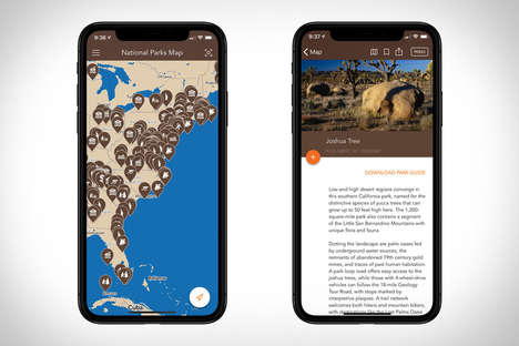 National Park Travel Apps