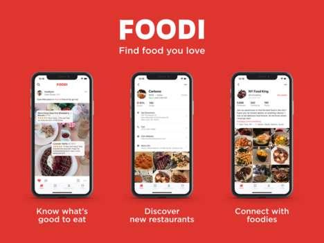 Foodie-Focused Social Apps
