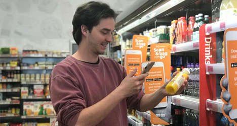 App Payment-Only Grocery Stores