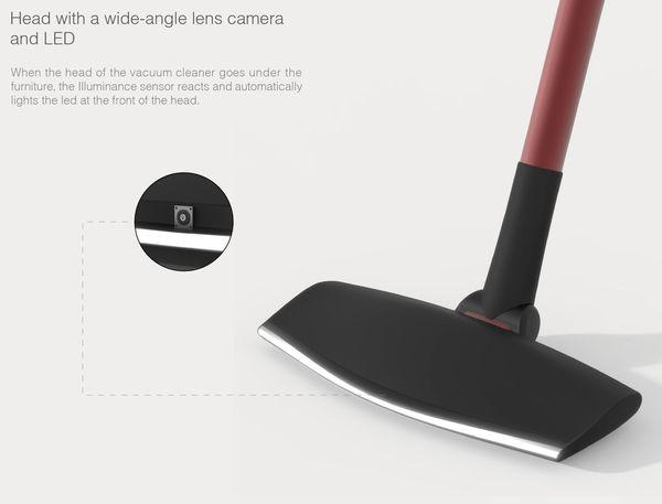 POV Camera Integrated Vacuums